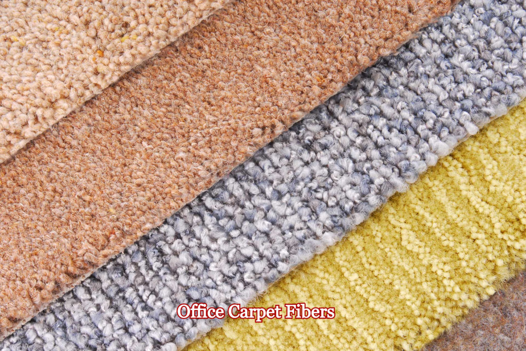 office carpet fibers