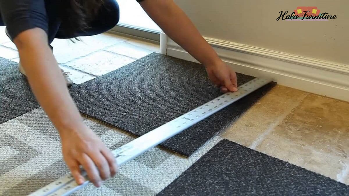 Carpet Tiles Installation Methods and Process