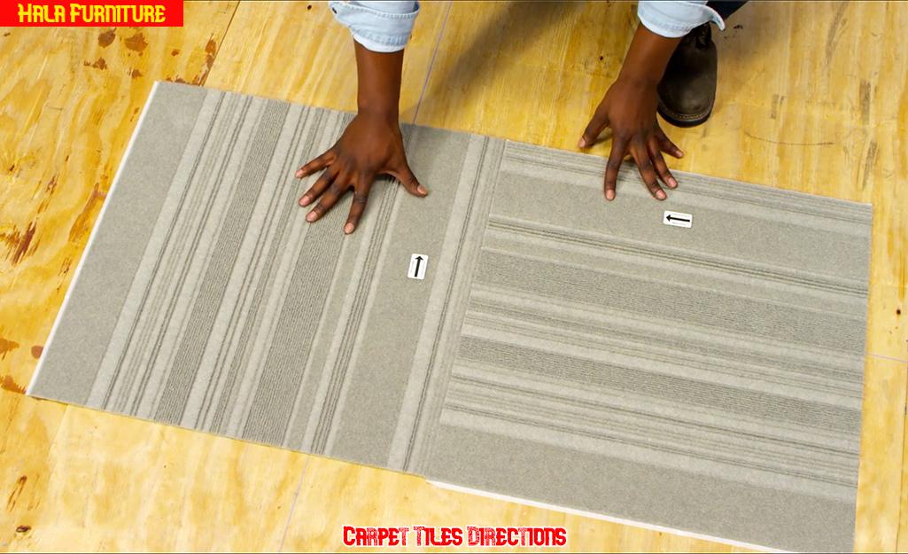 Carpet Tiles Installation Direction
