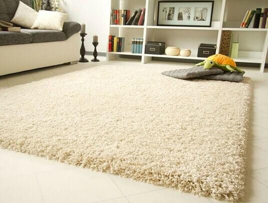 High pile carpet