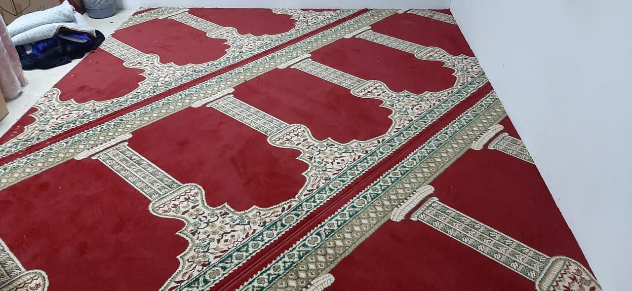 Red Mosque Carpet