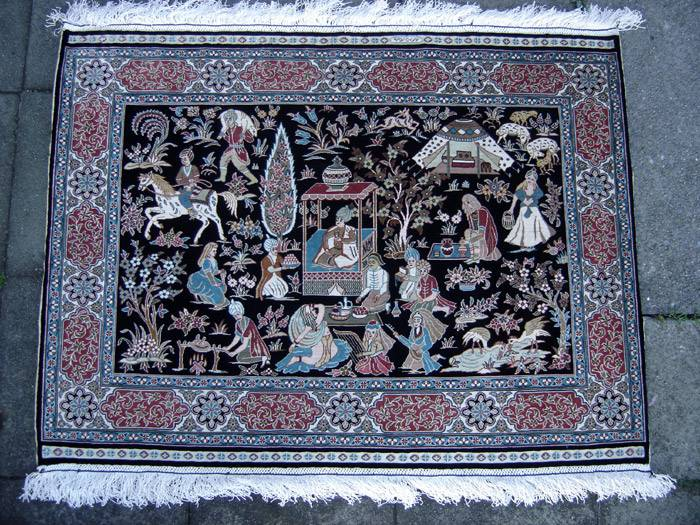 Turkish Silk Carpets