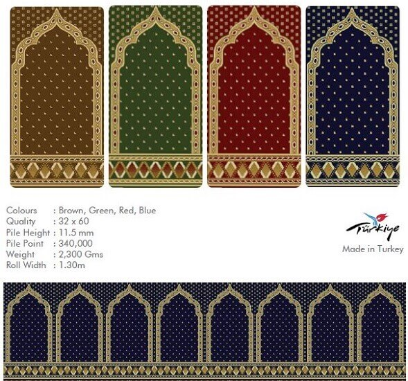 Mosque Carpets in Dubai