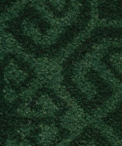 dark green carpet