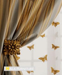 Silk Curtains 250x300